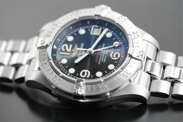 competitive price 384cf 1ce05 ブライトリング(BREITLING) スーパーオーシャン GMT(SUPEROCEAN GMT)